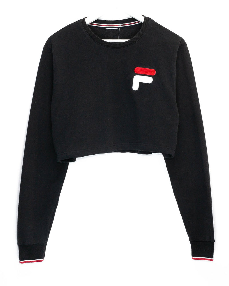 Storeroom Rework'd Women's Cropped Jumper <br> (S)