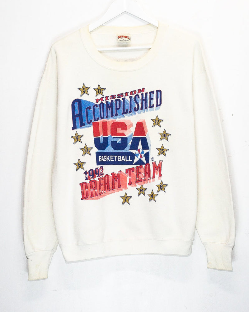 Vintage '92 USA Basketball 'Dream Team' Olympics Jumper<br> (M)