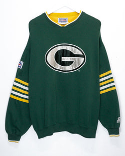 Vintage Green Bay Packers NFL Jumper <br> (L)