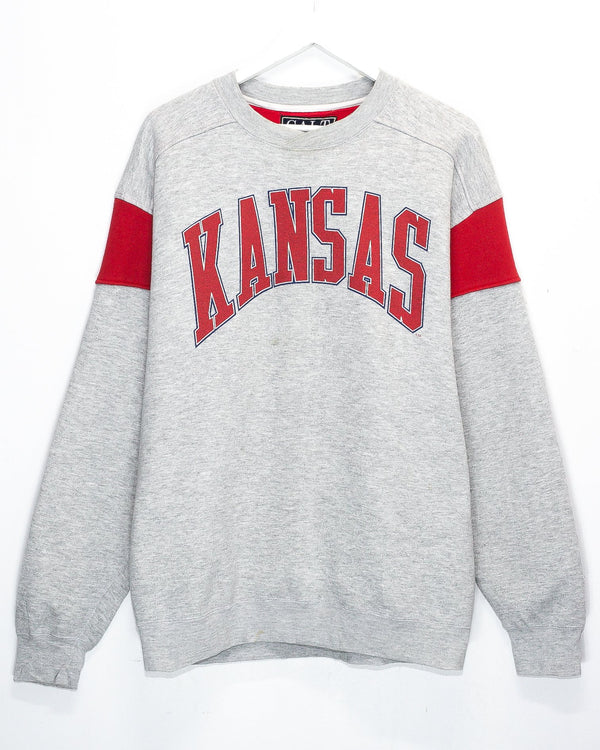 Vintage Kansas University Jumper <br> (L/XL)