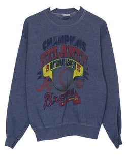 Vintage '95 Atlanta Braves Jumper<br> (L)