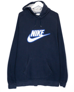 Vintage Early 00's Nike Embroidered Jumper <br> (XXL)