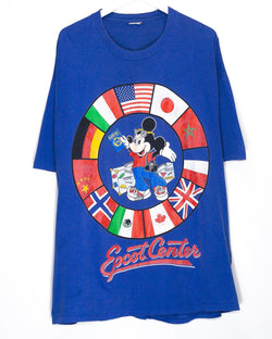 Vintage Mickey Mouse Epcot Center T-Shirt <br> (2XL/3XL)