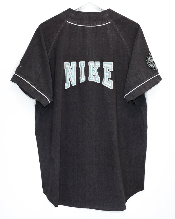 Vintage Embroidered Nike Baseball Jersey <br> (XL)