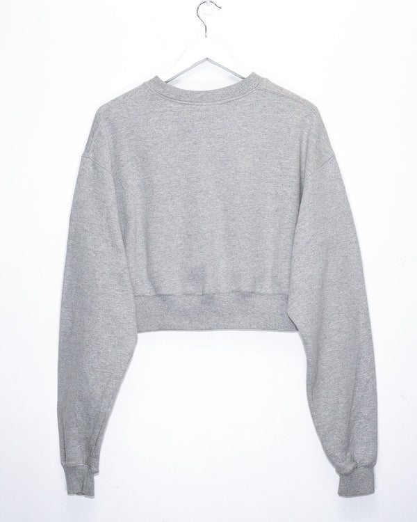 Rework'd Cropped Sweatshirt <br> (L)