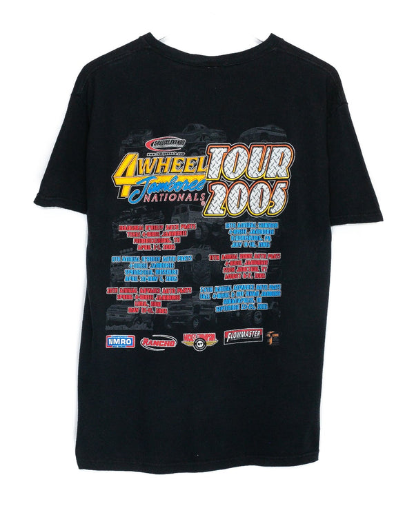 Vintage 4 Wheel Jamboree Racing T-Shirt <br> (M/L)