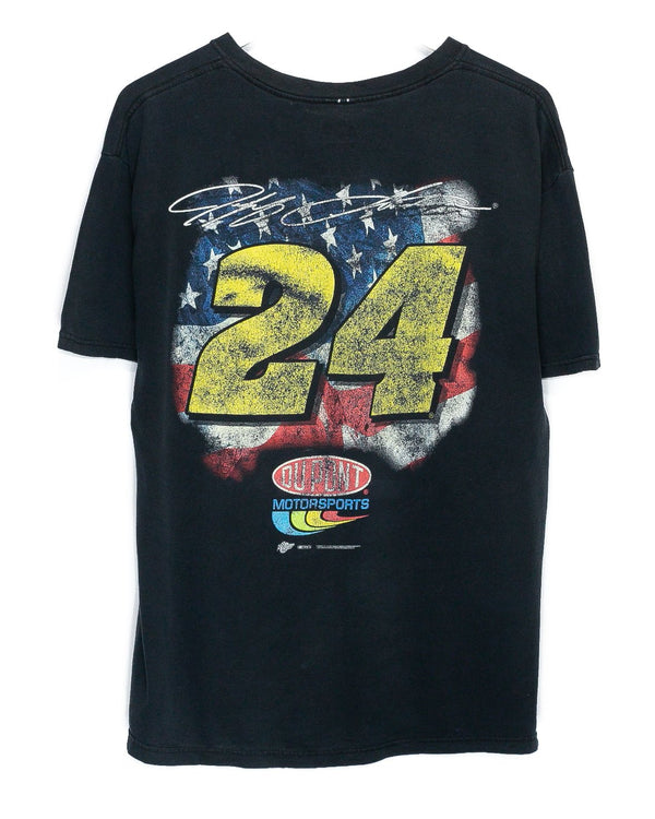 Vintage Jeff Gordon Nascar Racing T-Shirt <br> (L)
