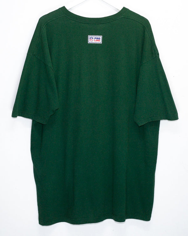 Vintage Green Bay Packers Reebok NFL T-Shirt <br> (XXL)