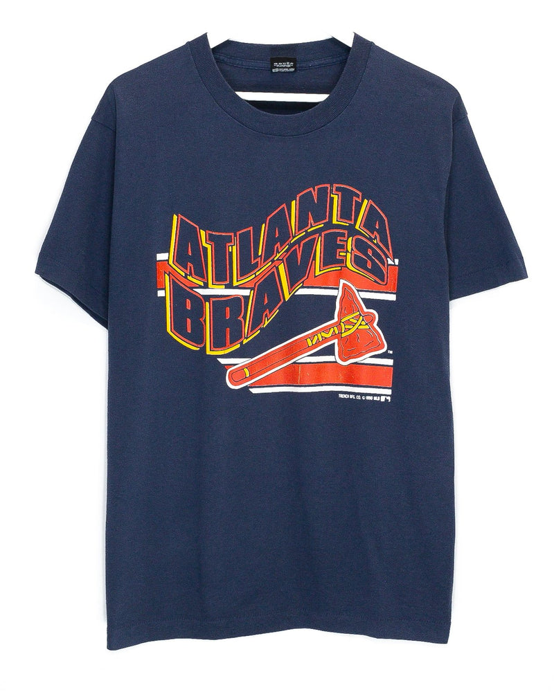 Vintage Atlanta Braves 50/50 T-Shirt <br> (M)