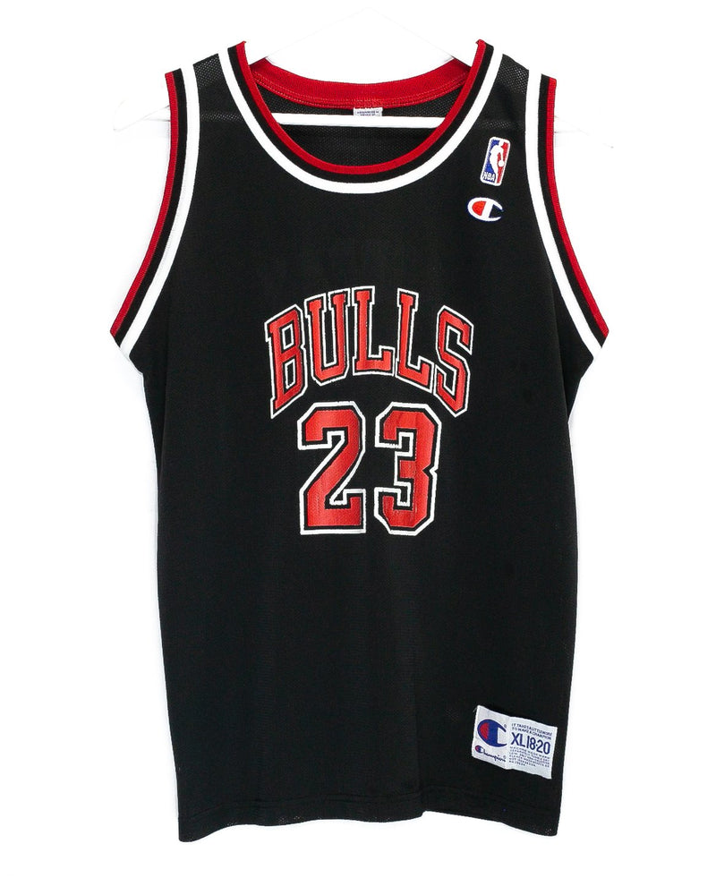 Vintage Chicago Bulls Champion NBA Jersey <br> (XS)