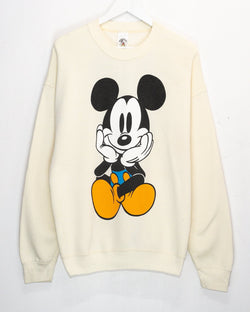 Vintage Mickey Mouse 50/50 Jumper <br> (XL)