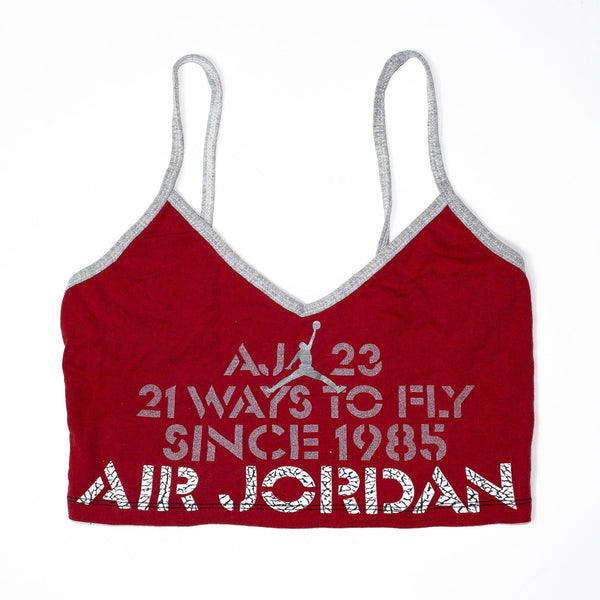 Rework'd Air Jordan Singlet Top<br> (XS)