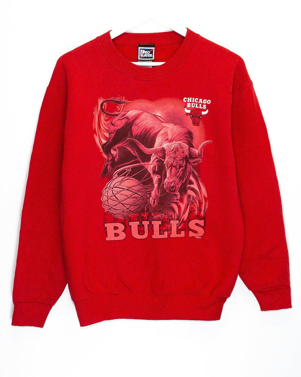 Vintage Chicago Bulls NBA Jumper <br> (S)