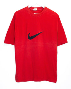 Vintage Bootleg Nike Embroidered T-Shirt <br> (L)