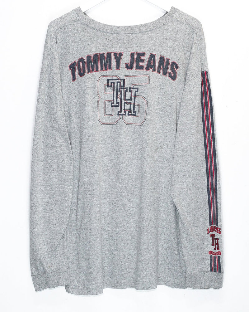 Vintage Tommy Jeans Longsleeve T-Shirt <br> (XL)