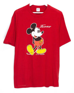 Vintage Mickey Mouse T-Shirt <br> (L)