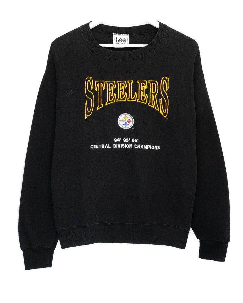 Vintage Pittsburgh Steelers Embroidered NFL Jumper <br> (M)