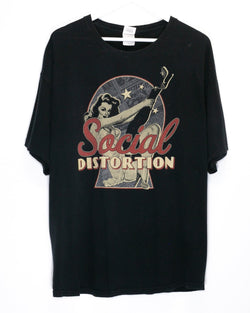 Vintage Social Distortion T-Shirt <br> (XL)