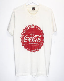 Vintage Coke 50/50 T-Shirt <br> (L/XL)