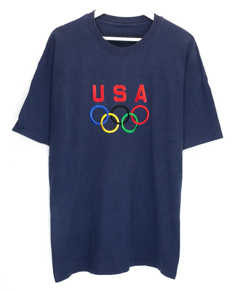 Vintage 1996 USA Olympic Team Embroidered T-Shirt <br> (XL)