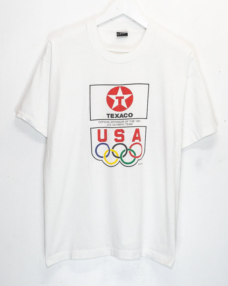 Vintage USA Olympic Team 50/50 T-Shirt <br> (S)