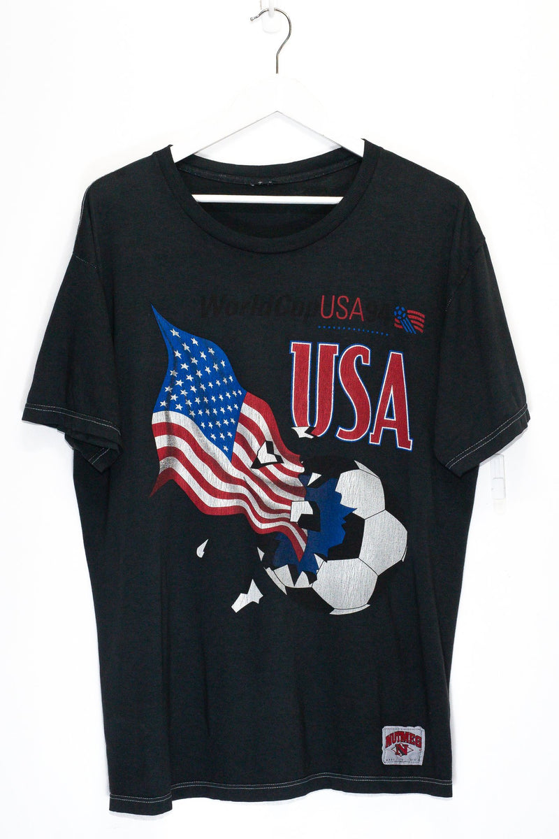 Vintage USA World Cup T-Shirt <br> (XL)