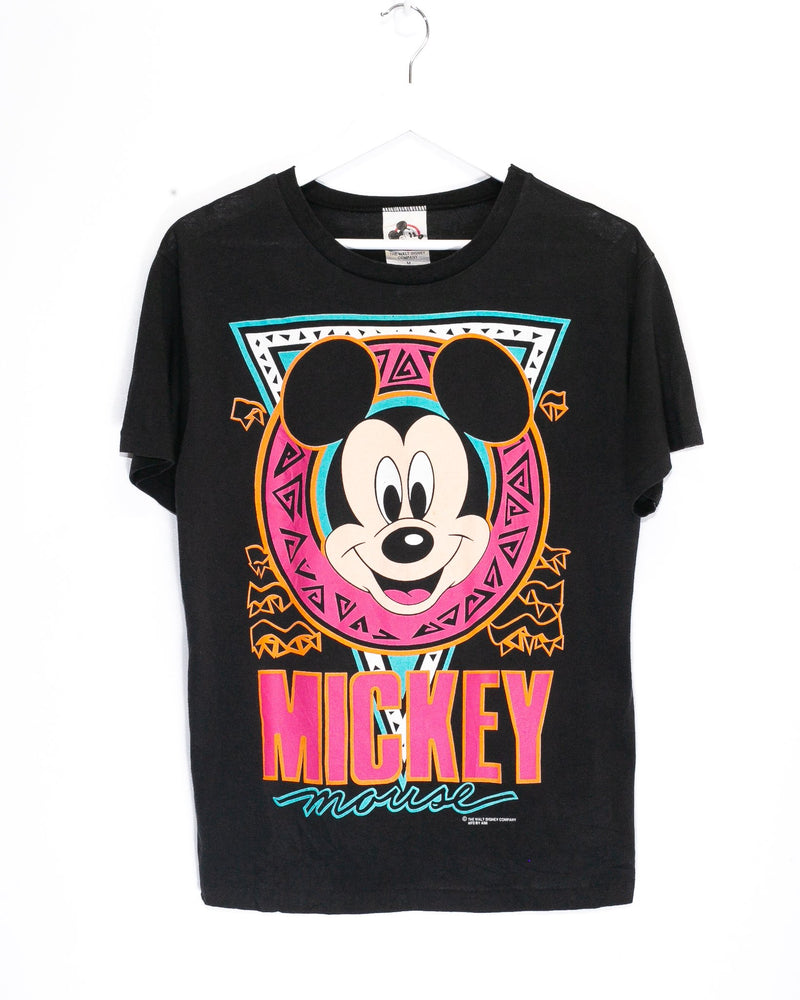 Vintage Mickey Mouse T-Shirt <br> (S)