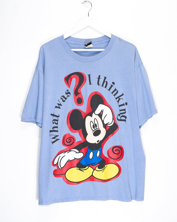 Vintage Mickey Mouse T-Shirt <br> (XL)