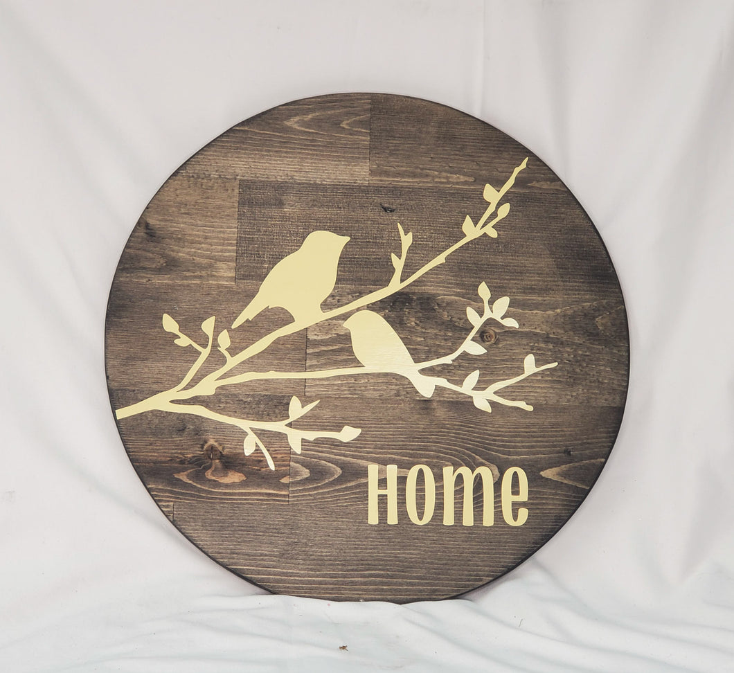 Bird Home Sign