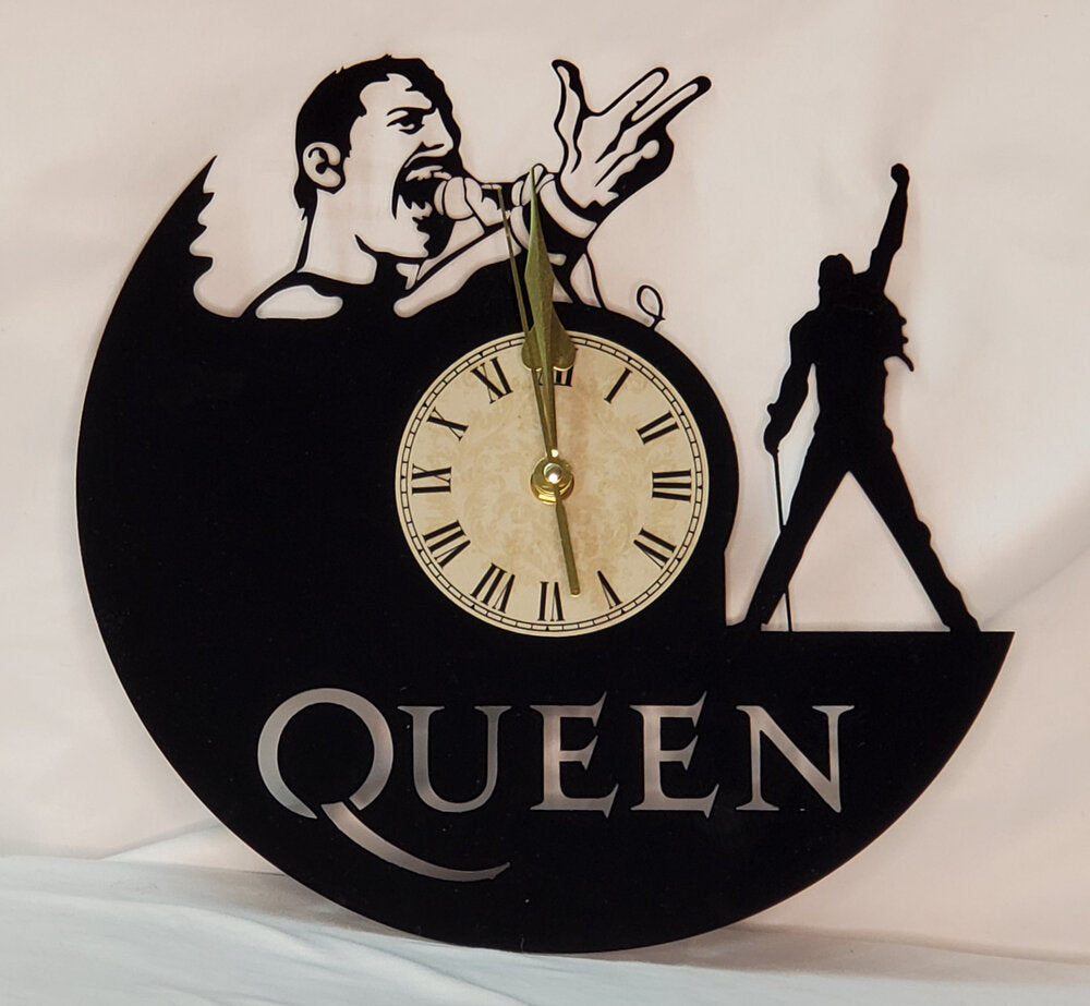 Laser Cut Acrylic Clock - Queen