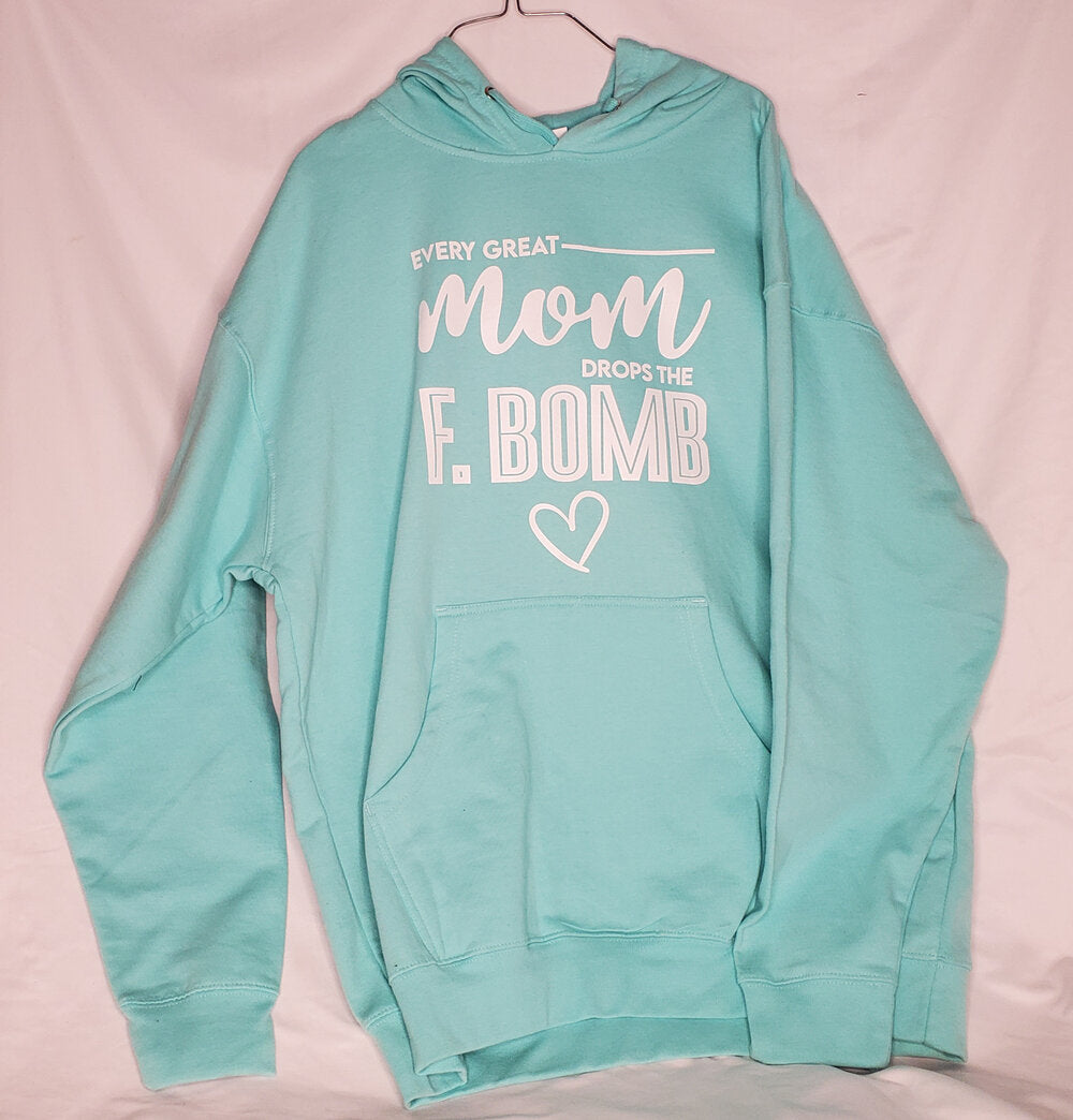 Every Great Mom - Mint Green/White