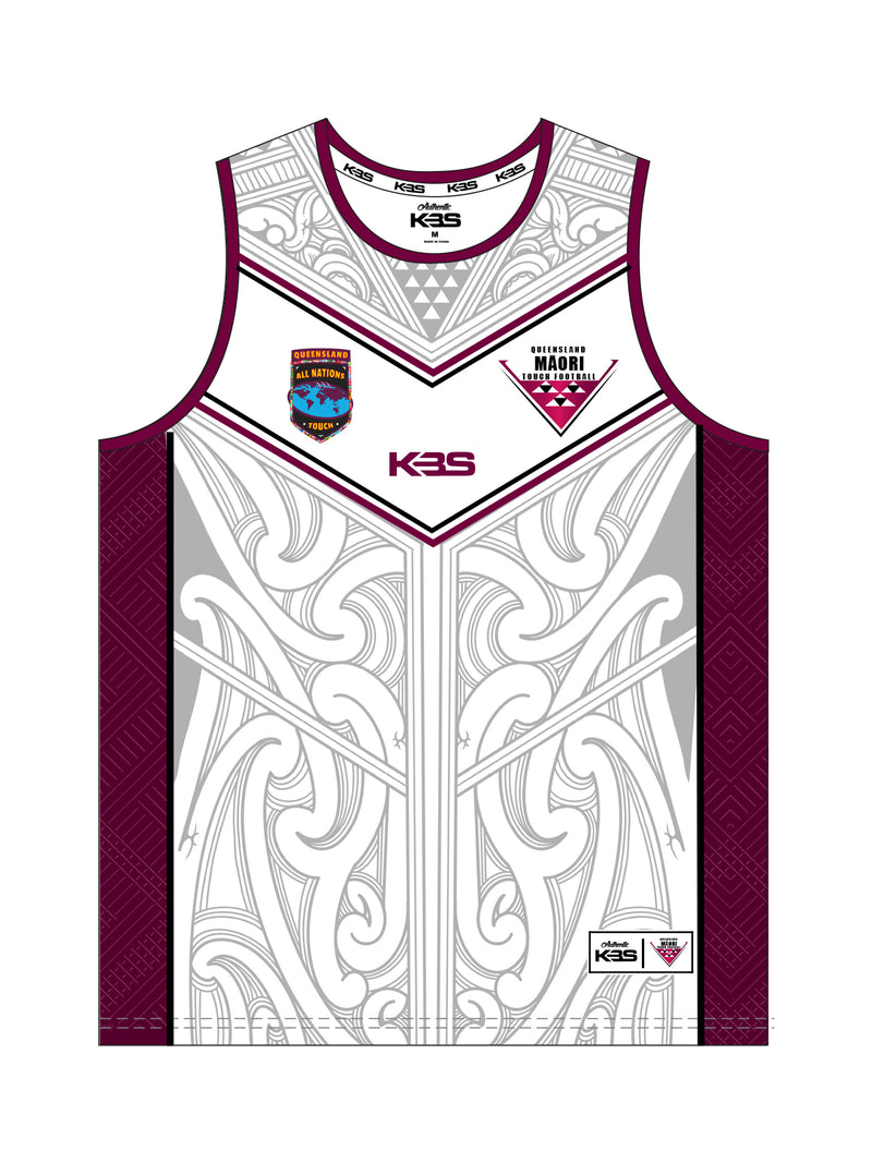 *PRE ORDER* Queensland Maori Supporter Singlet
