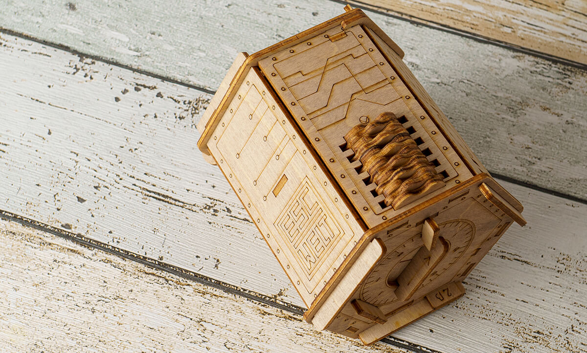 Fort Knox Box- Escape Welt