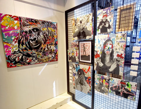 The streets of lockdown exhibition