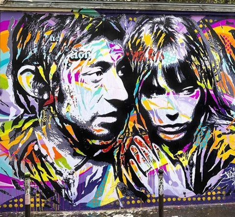 Jo DI Bona Gainsbourg wall painting