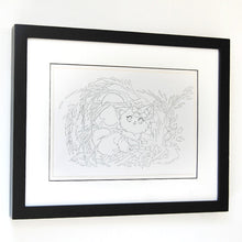Load image into Gallery viewer, Leaf Dawnsing Inked Drawing