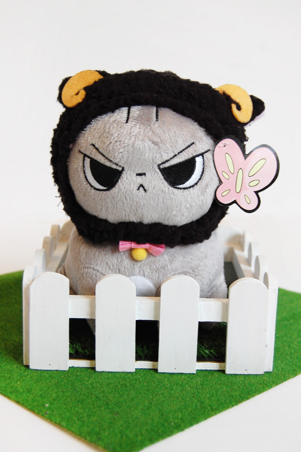 Angry Cat Sheep Hat Version