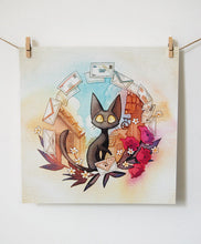 Load image into Gallery viewer, Jiji's Delivery Service Poster 11x11 Inches