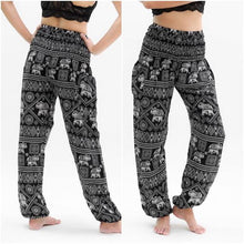 Load image into Gallery viewer, Black ELEPHANT Pants Women Boho Pants Hippie Pants Yoga - Fit mudra