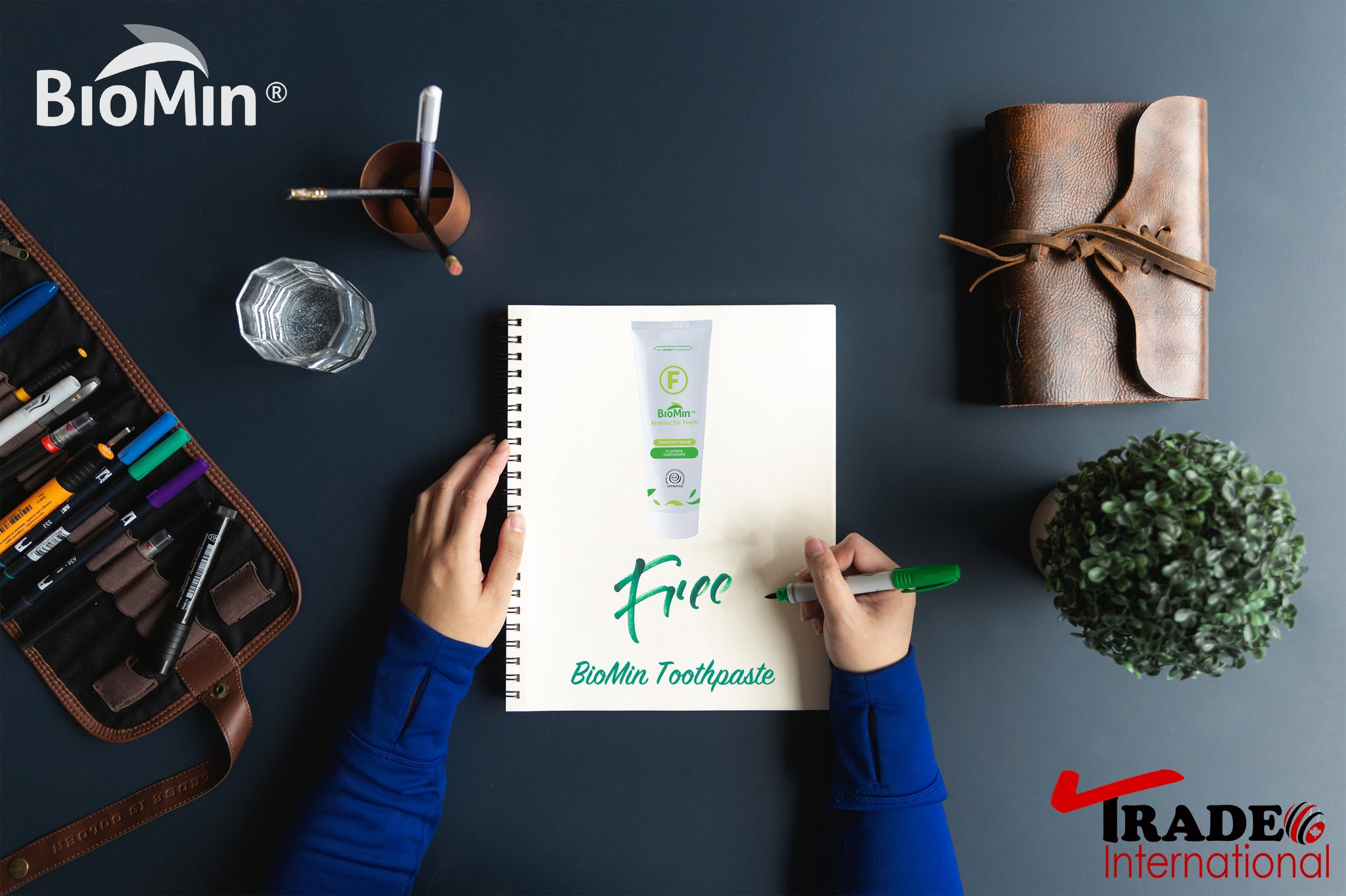 Free BioMin toothpaste for Returning Customers