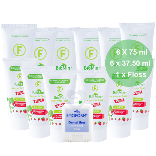 BioMin F Family Pack + Free Shipping + Bundle Discount + Free Emoform Dental Floss