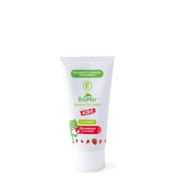 BioMin™ F for Kids Strawberry Toothpaste - HealthPulze