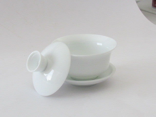 TEAWARES -  Gaiwan - white porcelain - 100 ml