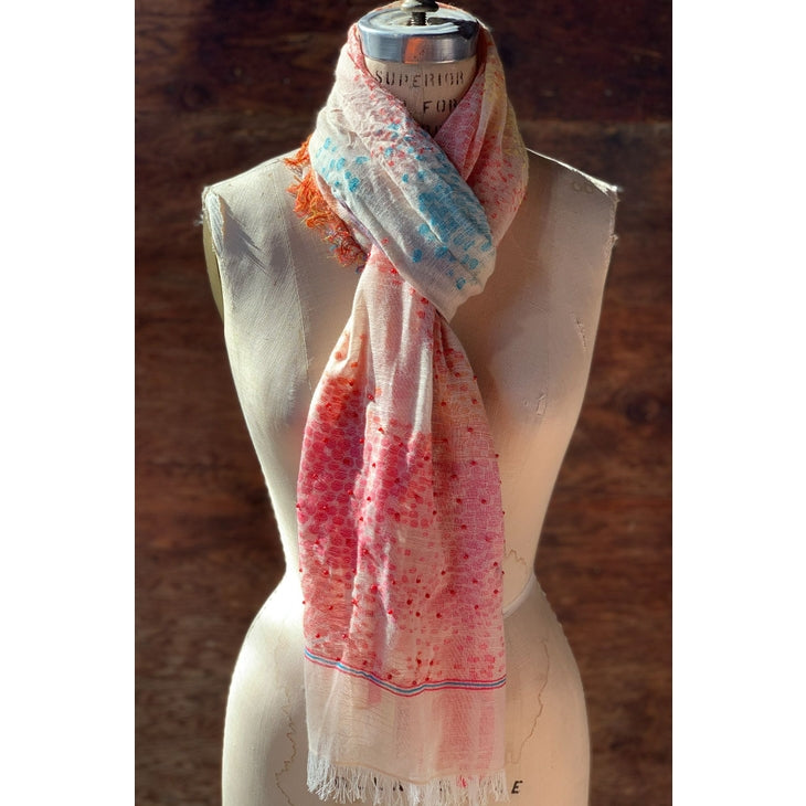 Delicate Patterned Scarf