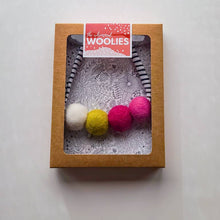 Load image into Gallery viewer, Woolie Ball Necklace (two colors)