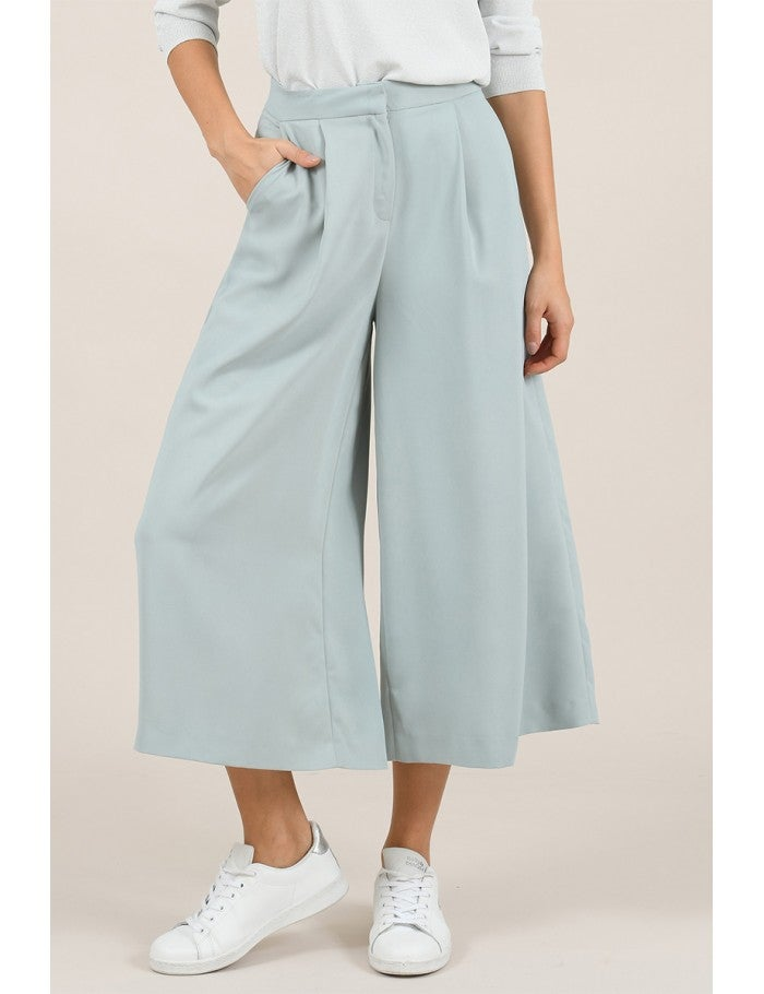 Wide Leg Trouser (two colors)