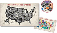 Load image into Gallery viewer, Scratch-Off USA Map