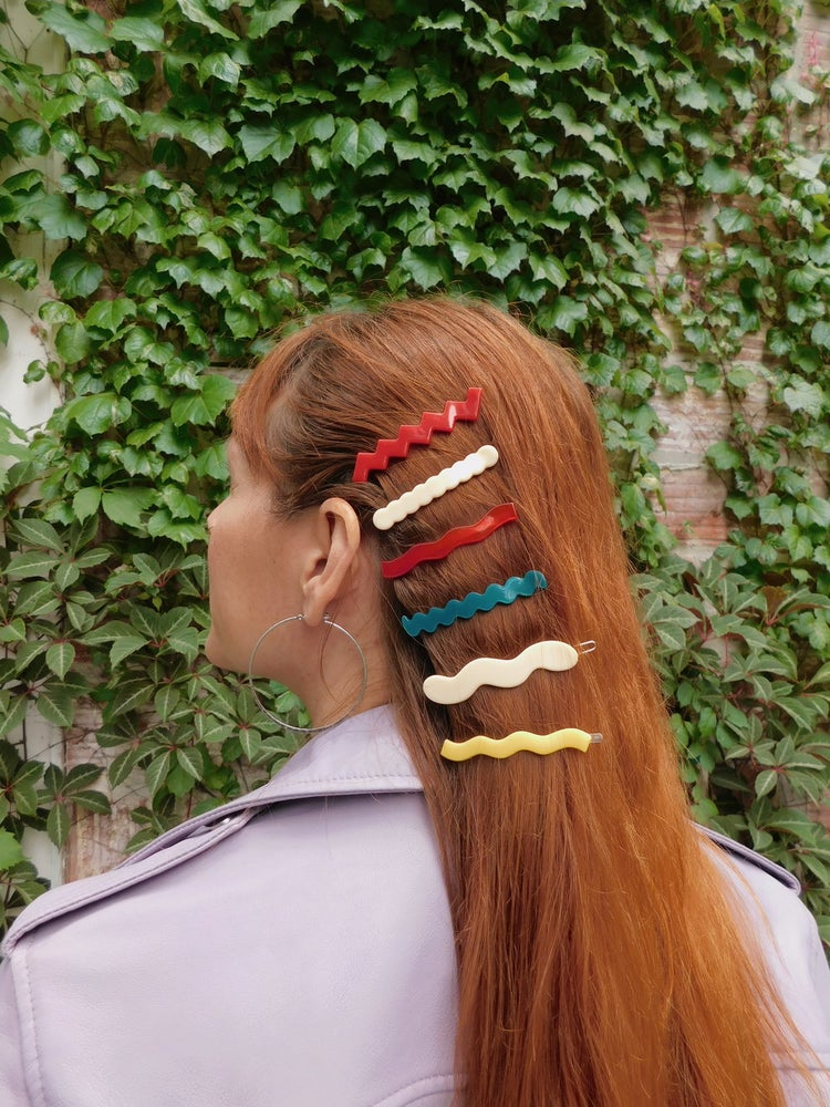 Lines Barrettes (4 pack)