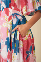 Load image into Gallery viewer, Ines Pink Isilah Floral Dress