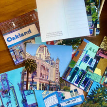 Load image into Gallery viewer, Oakland Paintings Post Card Pack